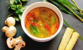 Easy Tom Yum Soup with 6 Ingredients