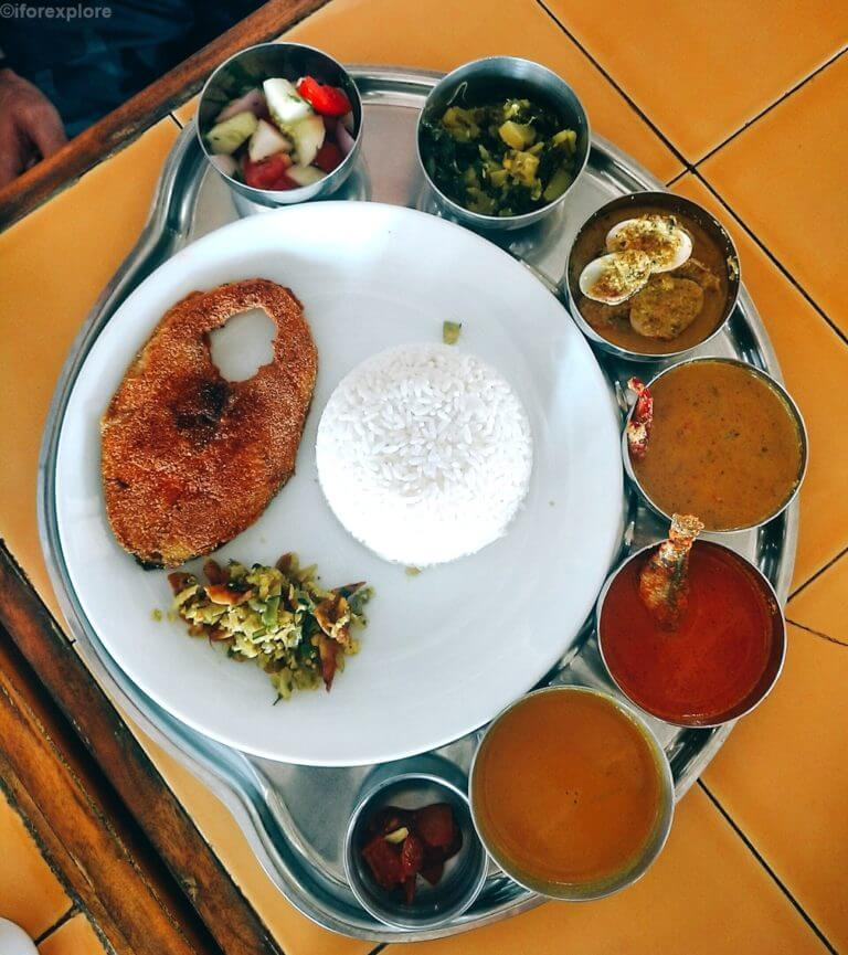 Fish Thali Places In Goa