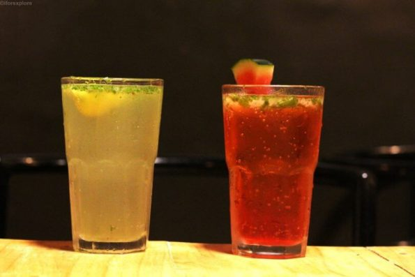 Virgin Mojito and Watermelon and Mint Cooler