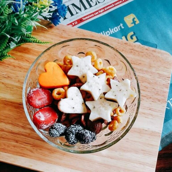 Mango Banana Breakfast Bowl