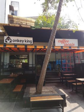 Monkey King and Coffee Locale