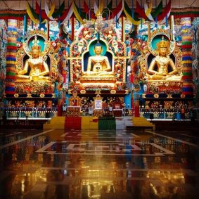 Namdroling Monastery – #3 Best Things to do in Coorg