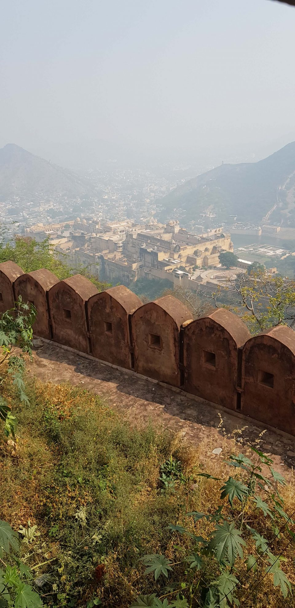 Amer Fort-From-Jaigarh Fort-Tunnel